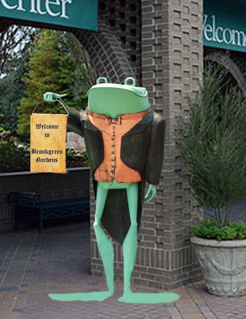 welcome frog II